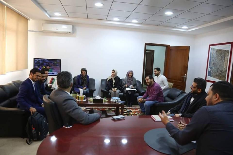 تعزيز علاقات التعاون والشراكة مع اللجنة_الدولية