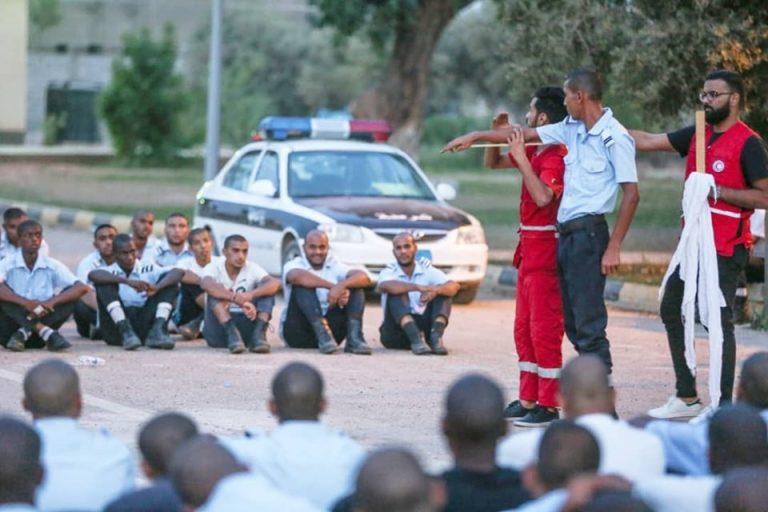 تدريب 800 متدرب من منتسبي الجدد لوزارة الداخلية بالحكومة الليبية