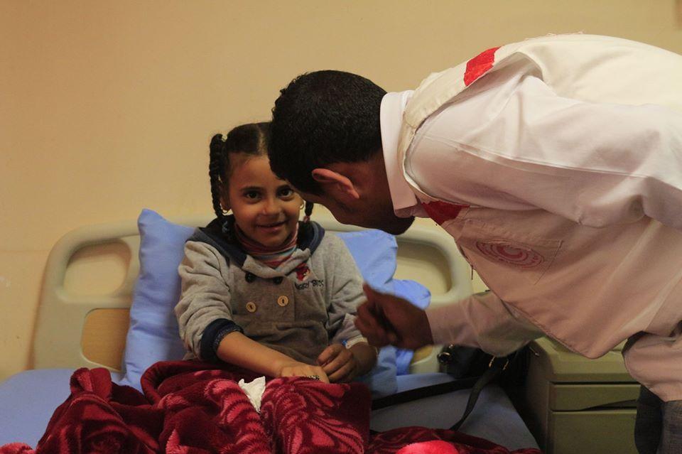 زيارة لمستشفى الأطفال .