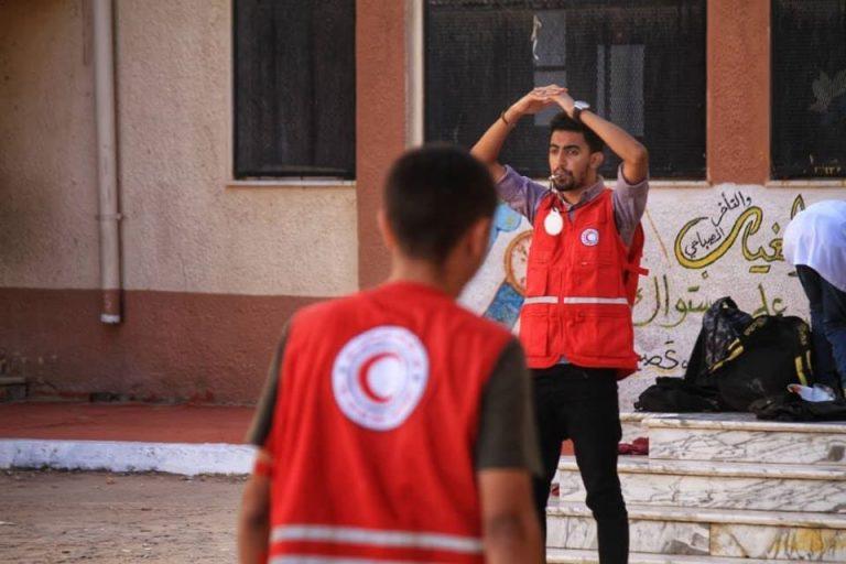 صقل مهارات المتطوعين الصغارالشبيبة