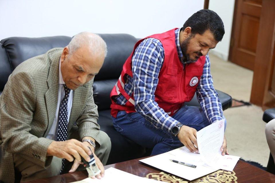 توقيع اتفاقية مع اللجنة الاسلامية