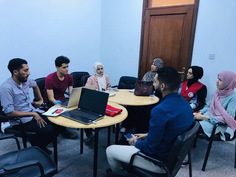 الاجتماعات التنسيق للمكتب التقييم والاعلام