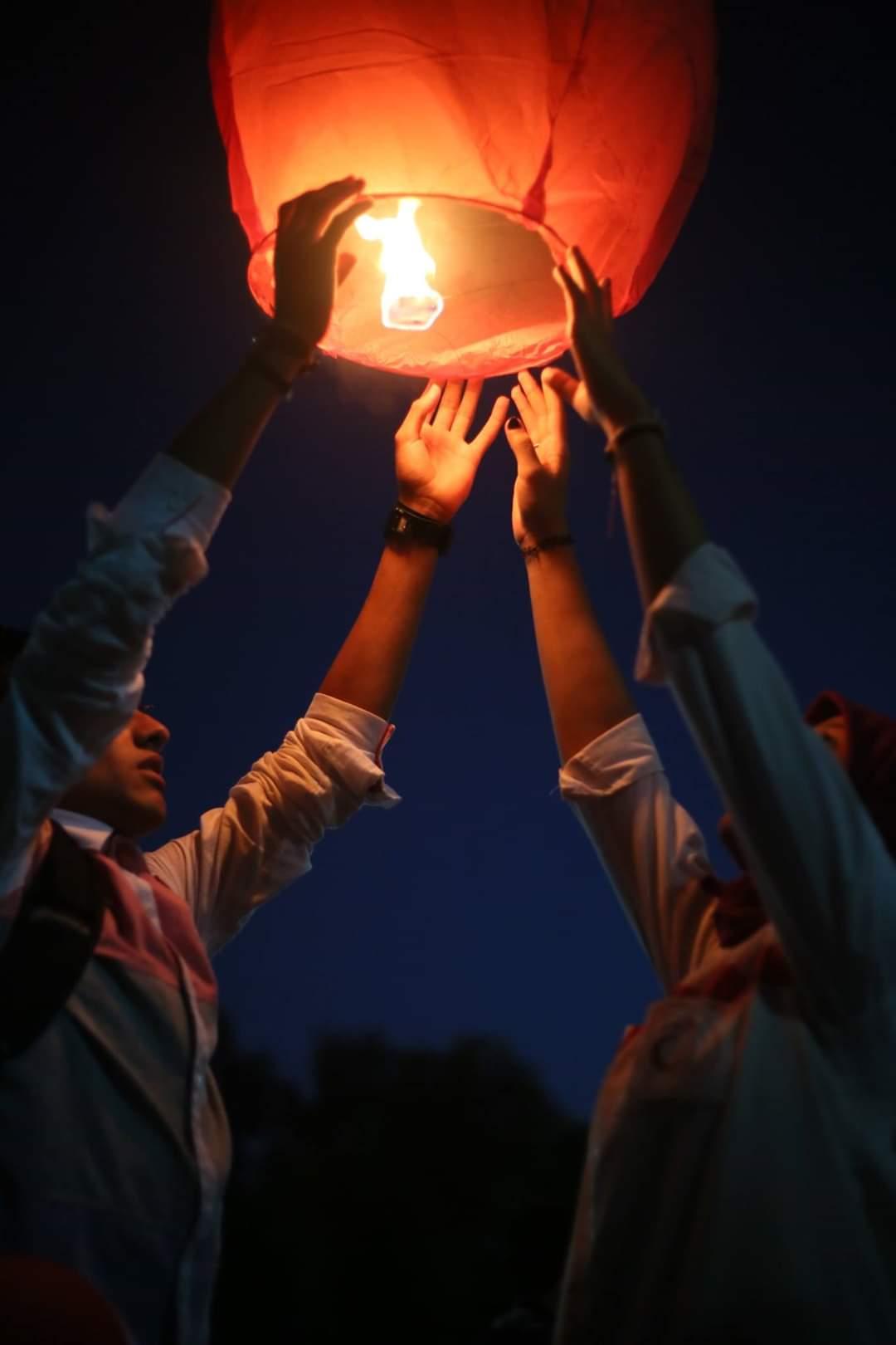 الإحتفال بذكرى تأسيس الهلال الأحمر الليبي .