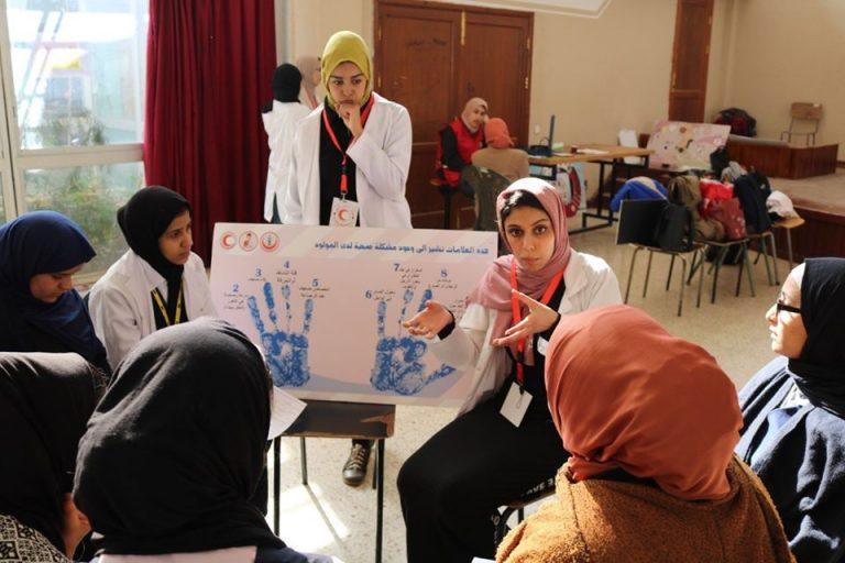 فريق ناقشة مواضيع (الصحة المجتمعية والإسعاف الأولي)
