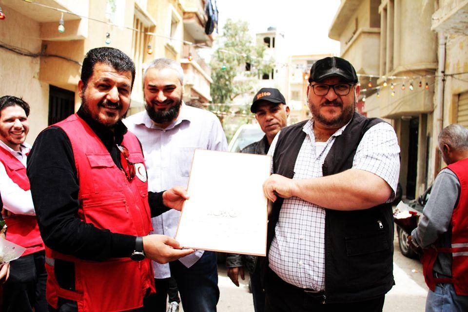زيارتنا لشارع اول حالة سجلت في مدينة بنغازي