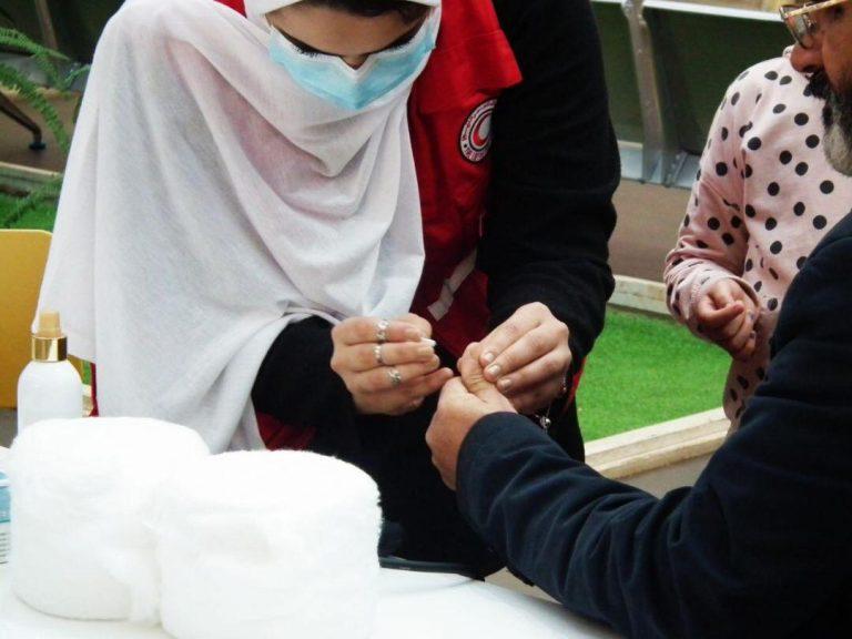 إحياء اليوم العالمي لمرض السكري فرع بنغازي