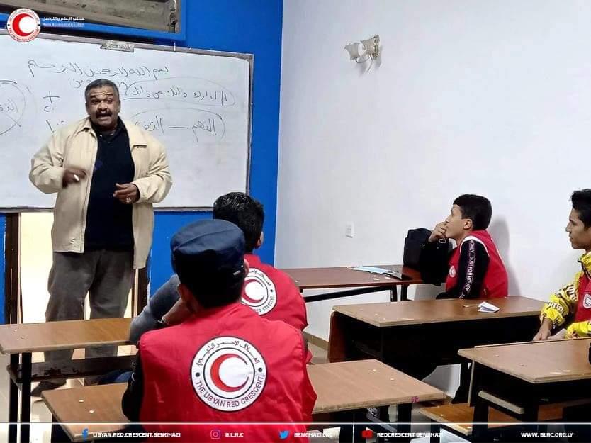 اختتام دورة للتنمية البشرية (المستوى الرابع) للمتطوعين